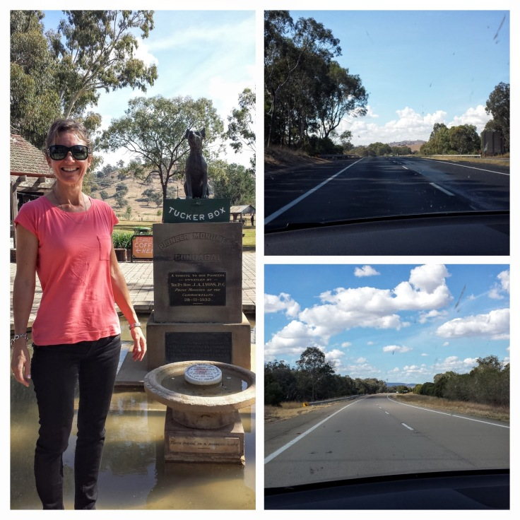 On the road to Canberra
