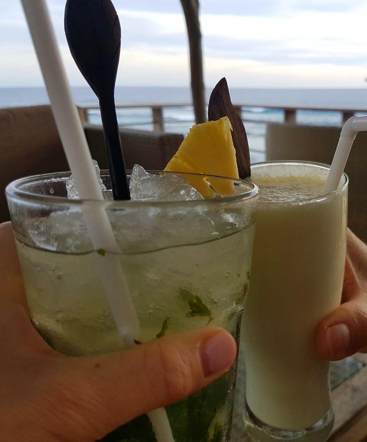 Cocktails at Dream Beach, Nusa Lembongan, Indonesia