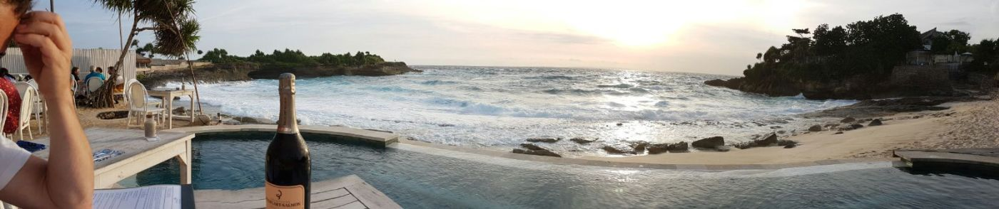 Sandy Bay Beach Club, Sunset Beach, Nusa Lembongan, Indonesia